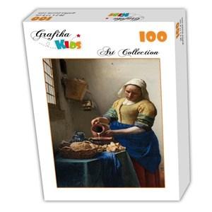 """Grafika (00154) - Johannes Vermeer: """"La Laitière, 1658-1661"""" - 100 pièces"""
