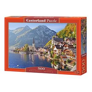"""Castorland (B-52189) - """"Hallstatt, Austria"""" - 500 pièces"""