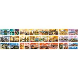 "Grafika (02199) - ""Travel around the World"" - 48000 pièces"