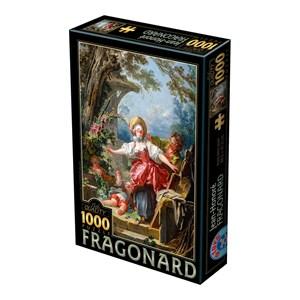 "D-Toys (72702-1) - Jean-Honoré Fragonard: ""Blind Man's Bluff"" - 1000 pièces"