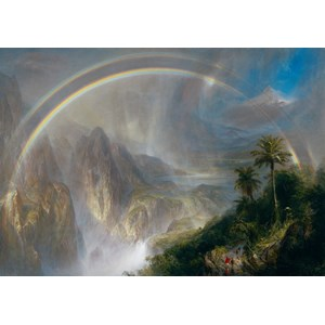 "Grafika (00239) - Fredric Church: ""Rainy Season in the Tropics"" - 1000 pièces"