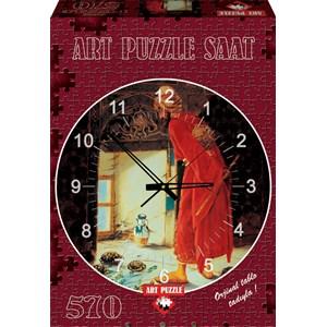 "Art Puzzle (4295) - Osman Hamdi Bey: ""The Turtle Trainer"" - 570 pièces"