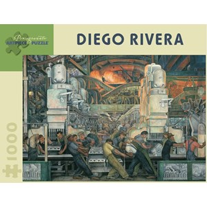"""Pomegranate (AA421) - Diego Rivera: """"L'industrie de Détroit"""" - 1000 pièces"""