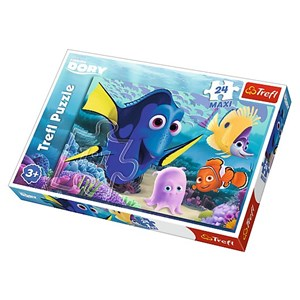 "Trefl (14239) - ""Dory & Nemo"" - 24 pièces"