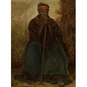 "Grafika (00331) - Eastman Johnson: ""Dinah, Portrait of a Negress"" - 2000 pièces"