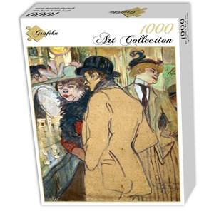 """Grafika (01992) - Henri de Toulouse-Lautrec: """"Alfred la Guigne, 1894"""" - 1000 pièces"""