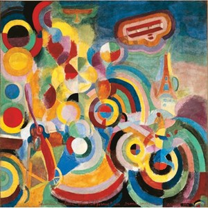 """Puzzle Michele Wilson (A254-500) - Robert Delaunay: """"Homage to Blériot"""" - 500 pièces"""