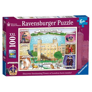 """Ravensburger (10784) - """"The Tower of London"""" - 100 pièces"""
