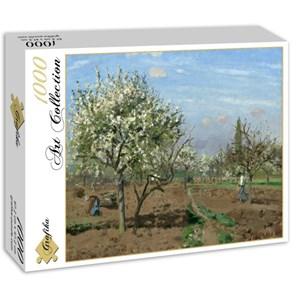"""Grafika (02028) - Camille Pissarro: """"Verger en Fleurs, Louveciennes, 1872"""" - 1000 pièces"""