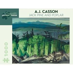 "Pomegranate (AA849) - A.J. Casson: ""Jack Pine And Poplar"" - 1000 pièces"