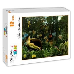 """Grafika (00306) - Henri Rousseau: """"The Dream, 1910"""" - 12 pièces"""