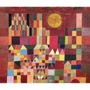 """Puzzle Michele Wilson (W203-24) - Paul Klee: """"Castle and Sun"""" - 24 pièces"""
