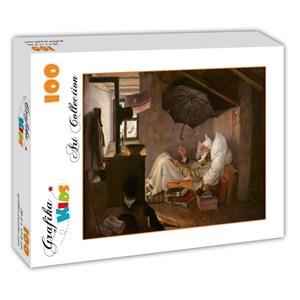 "Grafika Kids (01257) - Carl Spitzweg: ""Le Pauvre Poète, 1839"" - 100 pièces"