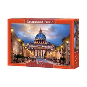 """Castorland (B-52349) - """"Basilique Saint-Pierre de Rome"""" - 500 pièces"""