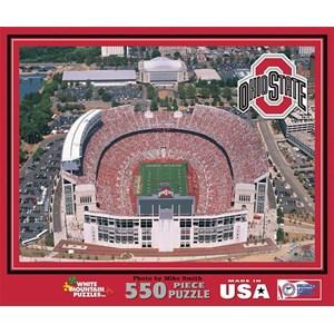 """White Mountain (501) - """"Ohio State Stadium, USA"""" - 550 pièces"""