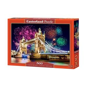 "Castorland (B-52592) - ""Tower Bridge, London, England"" - 500 pièces"