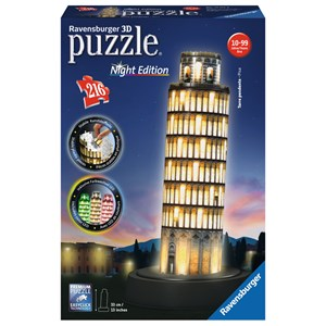"Ravensburger (12515) - ""Tour de Pise by Night"" - 216 pièces"