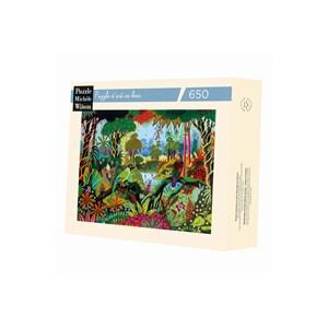 """Puzzle Michele Wilson (A491-650) - Alain Thomas: """"Jungle"""" - 650 pièces"""
