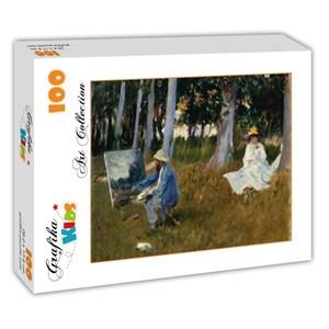"Grafika Kids (00103) - John Singer Sargent: ""Claude Monet by John Singer Sargent, 1885"" - 100 pièces"