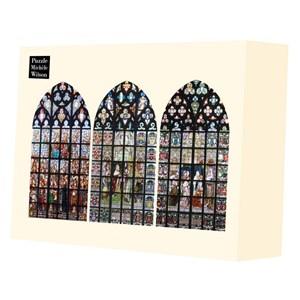 """Puzzle Michele Wilson (A543-2500) - """"Vitrail de Notre Dame d'Anvers"""" - 2500 pièces"""