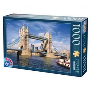 """D-Toys (64288-FP08) - """"Royaume-Uni, Londres, Tower Bridge"""" - 1000 pièces"""