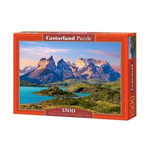 """Castorland (C-150953) - """"Parc national Torres del Paine en Patagonie, Chili"""" - 1500 pièces"""