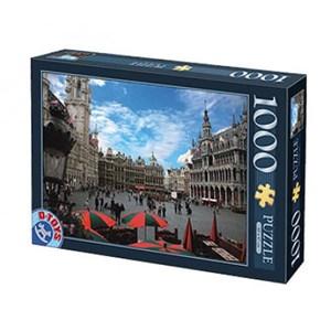"""D-Toys (64288-FP01) - """"Belgique, Bruxelles"""" - 1000 pièces"""