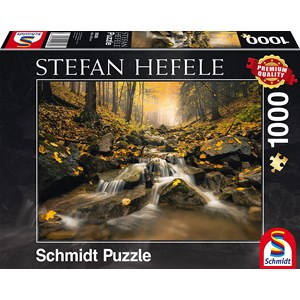 """Schmidt Spiele (59385) - Stefan Hefele: """"Ruisseau Magique"""" - 1000 pièces"""