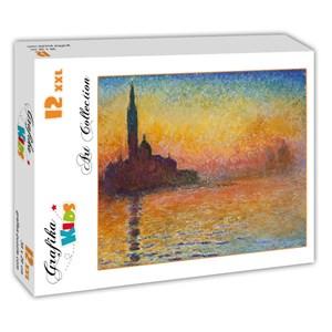 """Grafika (00095) - Claude Monet: """"Saint-Georges-Majeur au Crépuscule, 1908"""" - 12 pièces"""