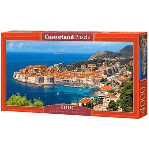 "Castorland (C-400225) - ""Dubrovnik, Croatia"" - 4000 pièces"