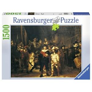 """Ravensburger (16205) - Rembrandt: """"La ronde de nuit"""" - 1500 pièces"""
