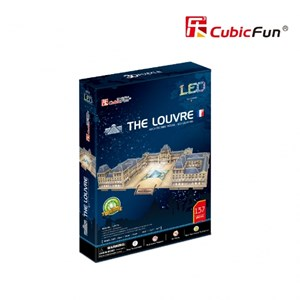 """Cubic Fun (L517h) - """"Le Louvre"""" - 137 pièces"""