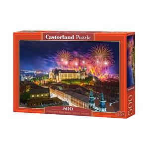 "Castorland (B-52721) - ""Château Wawel, Cracovie, Pologne"" - 500 pièces"
