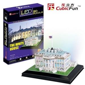 """Cubic Fun (L504H) - """"La Maison Blanche, Washington"""" - 56 pièces"""