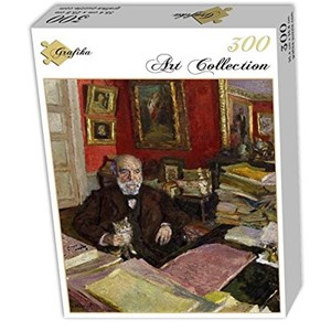 "Grafika (01806) - Edouard Vuillard: ""Théodore Duret, 1912"" - 300 pièces"