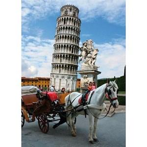 """D-Toys (64288-FP03) - """"Italie, Tour de Pise"""" - 1000 pièces"""