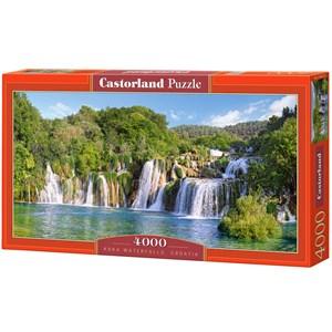 """Castorland (C-400133) - """"Cascades du Parc National de Krka, Croatie"""" - 4000 pièces"""