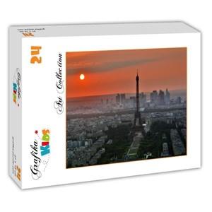 """Grafika Kids (00502) - """"Coucher de Soleil sur Paris"""" - 24 pièces"""