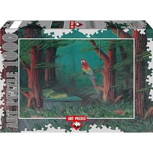 """Art Puzzle (61015) - Ahmet Yesil: """"L'invité de la Forêt"""" - 1000 pièces"""