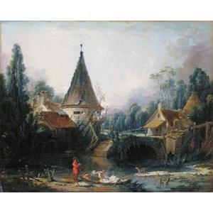"""D-Toys (72696-1) - François Boucher: """"Beauvais"""" - 1000 pièces"""