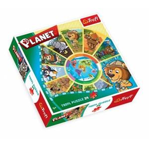 "Trefl (39055) - ""Planet"" - 24 pièces"