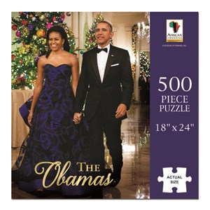 """African American Expressions (PUZ-09) - """"The Obamas"""" - 500 pièces"""