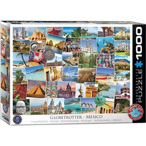 "Eurographics (6000-0767) - ""Mexico"" - 1000 pièces"