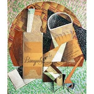 """Puzzle Michele Wilson (A324-150) - Juan Gris: """"La bouteille de Banyuls"""" - 150 pièces"""
