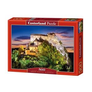 "Castorland (B-51489) - ""Orava Castle, Slovakia"" - 500 pièces"