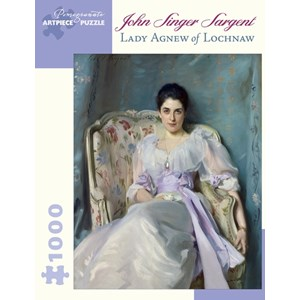 """Pomegranate (AA866) - John Singer Sargent: """"Lady Agnew Of Lochnaw"""" - 1000 pièces"""