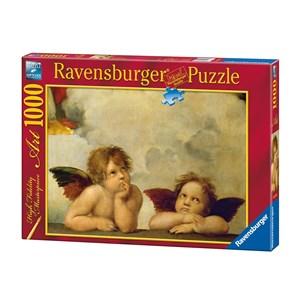 "Ravensburger (15544) - Raphael: ""Cherubs"" - 1000 pièces"