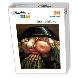 "Grafika Kids (00215) - Giuseppe Arcimboldo: ""L'Homme Potager"" - 24 pièces"