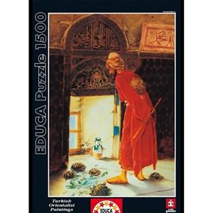 """Educa (12986) - Osman Hamdi Bey: """"Le Dresseur de Tortues"""" - 1500 pièces"""