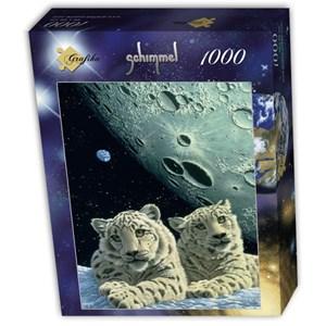 """Grafika (T-00422) - Schim Schimmel, William Schimmel: """"Lair of the Snow Leopard"""" - 1000 pièces"""